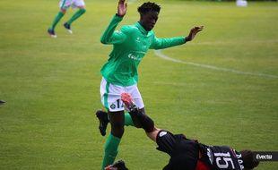 William Gomis a évolué durant cinq saisons sous le maillot vert de l'ASSE, jusqu'en juin dernier.