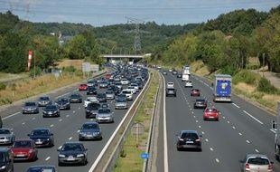 Circulation dense sur l'autoroute A43 (image d'illustration).