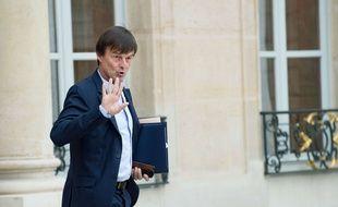 Nicolas Hulot, le 2 novembre 2017 à l'Elysée.