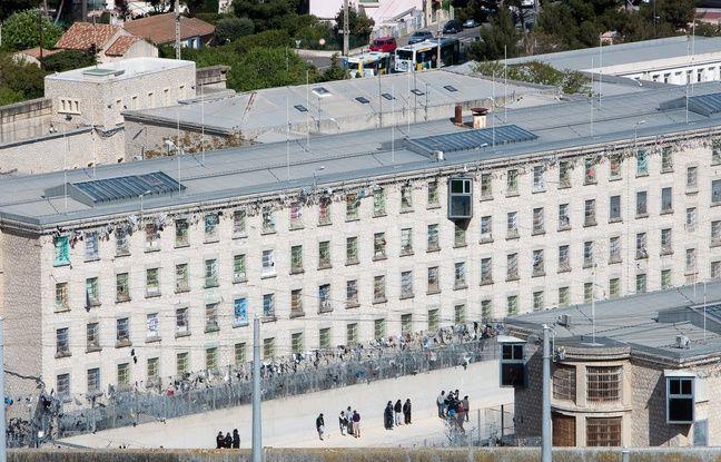 Marseille le 25 avril 2012 - La prison des baumettes
