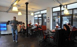 La Cantine, un espace de travail collaboratif à Paris. Photo d'illustration.