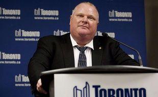 Le maire de Toronto (Canada), Rob Ford.