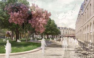 La place va être réaménagée par la Ville à partir de 2018.