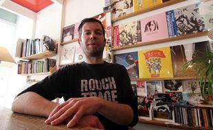 Fred a fondé Blindspot, un disquaire installé à Rennes depuis 2008.