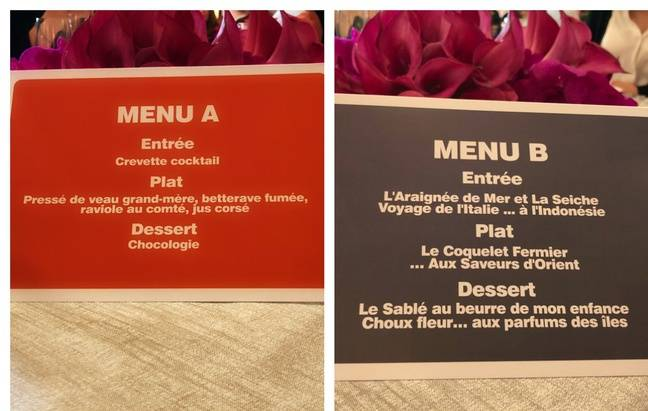 Les menus de la finale de Top Chef 2020.