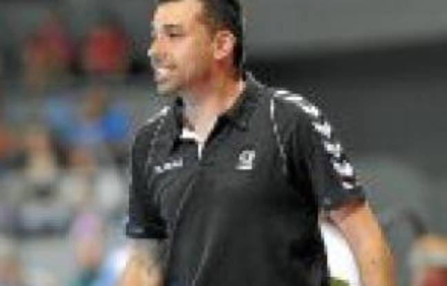 L'entraîneur Joël Da Silva.