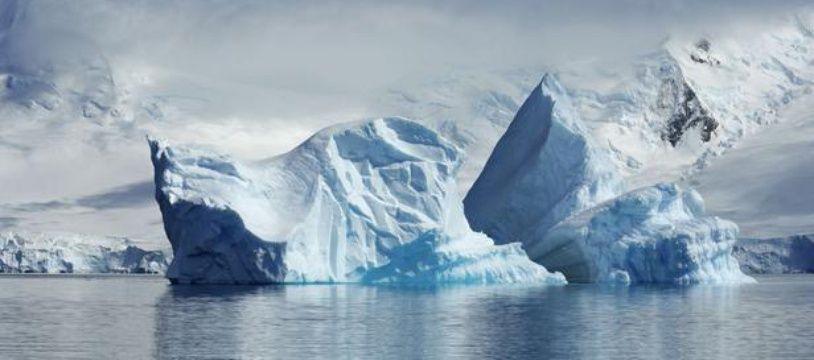 Un iceberg grand comme 60 fois Paris se déplace actuellement dans les eaux de l'Antarctique. (Illustration)