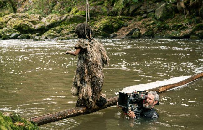 Les conditions de tournage de la série préhistorique Moah, ont parfois été difficiles pour l'équipe