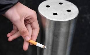 Image d'illustration d'une cigarette.