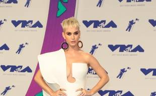 La chanteuse Katy Perry aux MTV Video Music Awards.