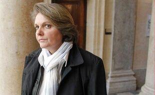 L'ancienne joueuse de tennis Nathalie Tauziat, lors du procès de Régis de Camaret, le 20 novembre 2012.