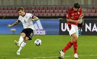 Toni Kroos avec l'Allemagne