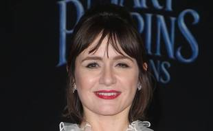 L'actrice Emily Mortimer