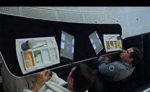 Extrait du film de Stanley Kubrick «2001, L'Odyssée de l'espace», sorti en 1968.