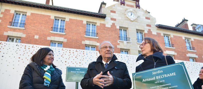 Le 26 février 2020, Anne Hidalgo a inauguré le jardin au nom du colonel defunt Arnaud Beltrame