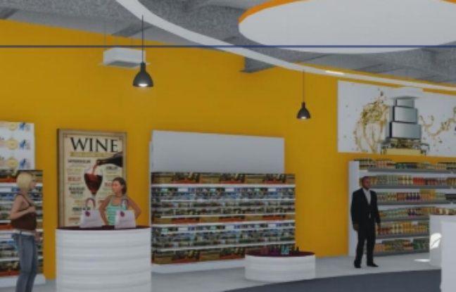 Un nouvel espace commercial pour l'aéroport.