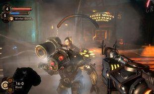 Capture d'écran du jeu «Bioshock 2»