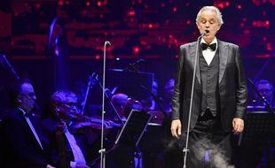 Le tenor Andrea Bocelli