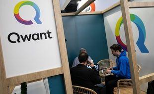 Le moteur de recherche français Qwant a été lancé en 2013.