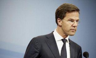 Le Premier ministre néerlandais, Mark Rutte, le 24 avril 2015 à La Haye