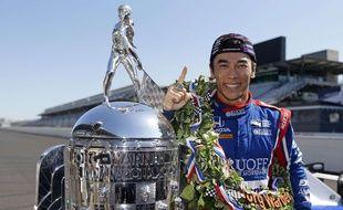 Takuma Sato s'est imposé aux 500 miles d'Indianapolis le 29 mai 2017.