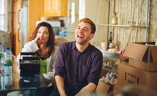 Anne Dorval et Xavier Dolan sur le tournage de «Mommy».