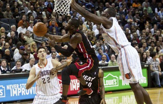 Dwyane Wade face à Charlotte, le 29 décembre 2011