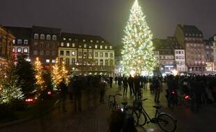 Le centre-ville de Strasbourg, le 27 novembre 2020.