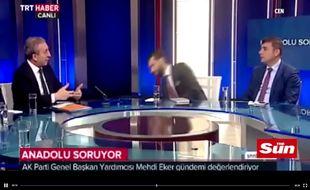 Un journaliste turc s'évanouit en pleine émission