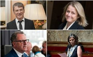Philippe Folliot, Barbara Pompili, Richard Ferrand et Cendra Motin briguent la présidence de l'Assemblée.