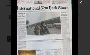 L'édition thaïlandaise de l'«International New York Times» du 1er décembre 2015.