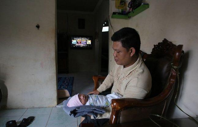 Le bébé bapyisé Jeux Asiatiques est venu au monde avec un mois d'avance.