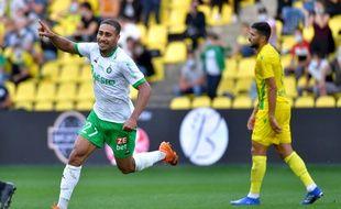 Yvann Maçon célèbre son superbe premier but en Ligue 1, inscrit dimanche dernier à Nantes. LOIC VENANCE