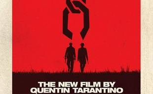 L'affiche du film de Quentin Tarantino, «Django Unchained».