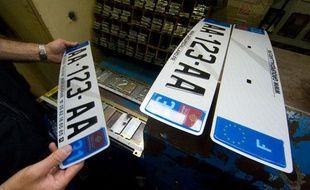 Les nouvelles plaques d'immatriculation en Haute-Garonne.