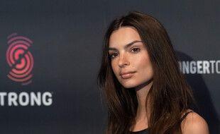 L'actrice et mannequin Emily Ratajkowski
