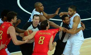 Nicolas Batum s'était un peu énervé contre les Espagnols en 2012