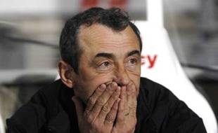 Mecha Bazdarevic, l'entraîneur de Grenoble, le 13 décembre 2008