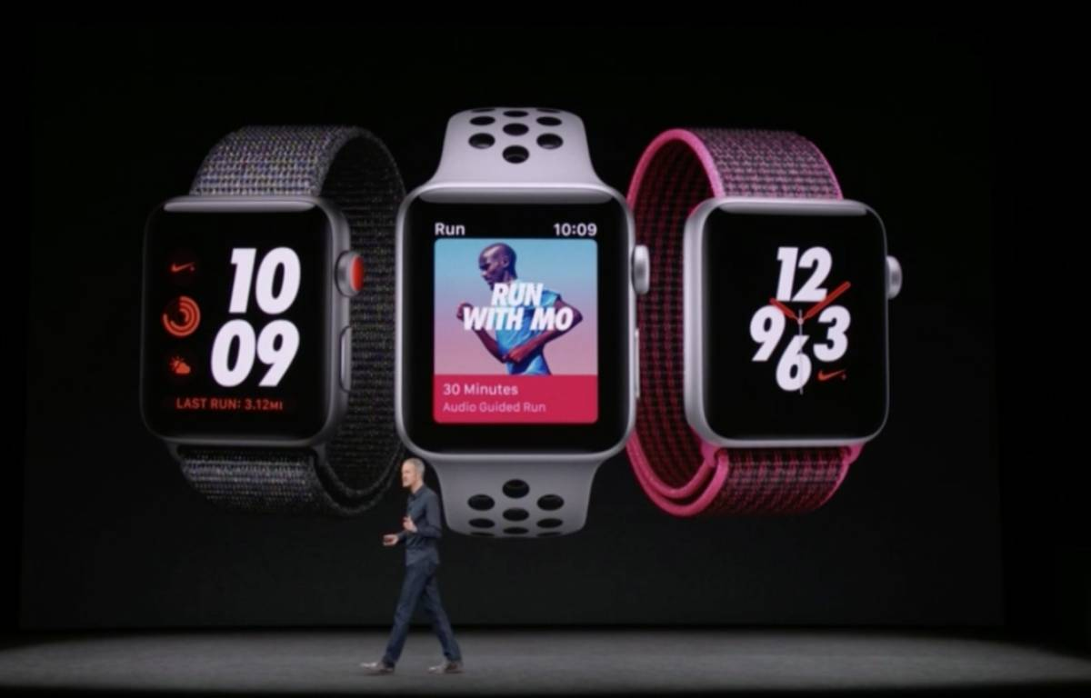 L'Apple Watch Series 3 sera disponible le 19 septembre. – DR