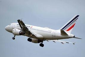 Un vol aérien Air France.