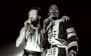 Maurice White et Philip Bailey - Earth, Wind & Fire