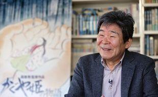 Isao Takahata, ici en 2015 pour «Le Conte de la princesse Kaguya», est décédé le 5 avril 2018.