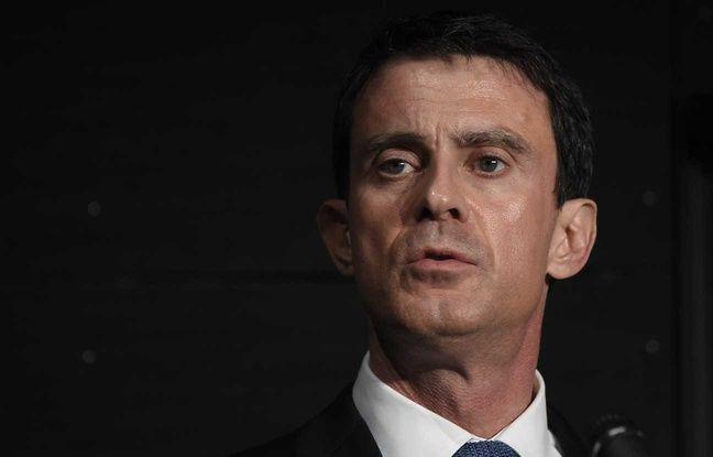 Manuel Valls le 8 janvier 2016 à Evry