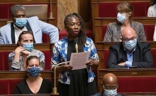 La députée Danièle Obono à l'Assemblée nationale en juillet 2020