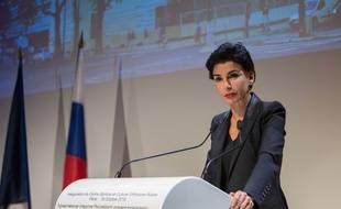 Rachida Dati, maire du 7e arrondissement de Paris, le 19 octobre 2016.
