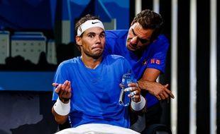 Nadal et Federer se sont retrouvés virtuellement pour un live Insta