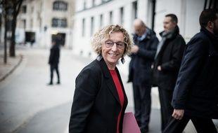 Muriel Penicaud, la ministre du Travail, le 29 octobre 2018 à Paris.