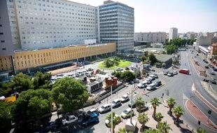 Marseille le 26 mai 2011 - L'h™pital de la Timone