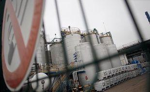L'usine Lubrizol, près de Rouen, à l'origine d'une fuite de gaz odorante le 22 janvier 2013.