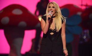 Britney Spears au festival de musique IHeartRadio à Las Vegas, le 21 septembre 2013.